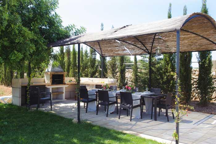 Barbecue Finca Mallorca Pool Südosten 12 - 14 Personen PM 6563