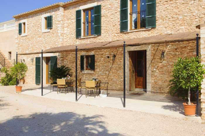Fincagebäude Ferienhaus Mallorca Pool Südosten 12 - 14 Personen PM 6563