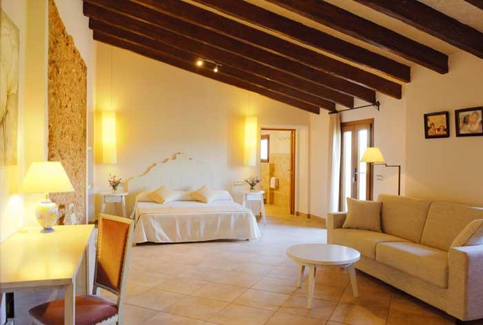 Schlafzimmer Finca Mallorca Pool Südosten 12 - 14 Personen PM 6563