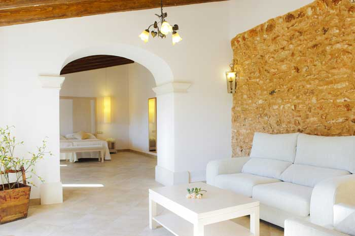 Schlafzimmer 2 Finca Mallorca Südosten 12 - 14 Personen PM 6563