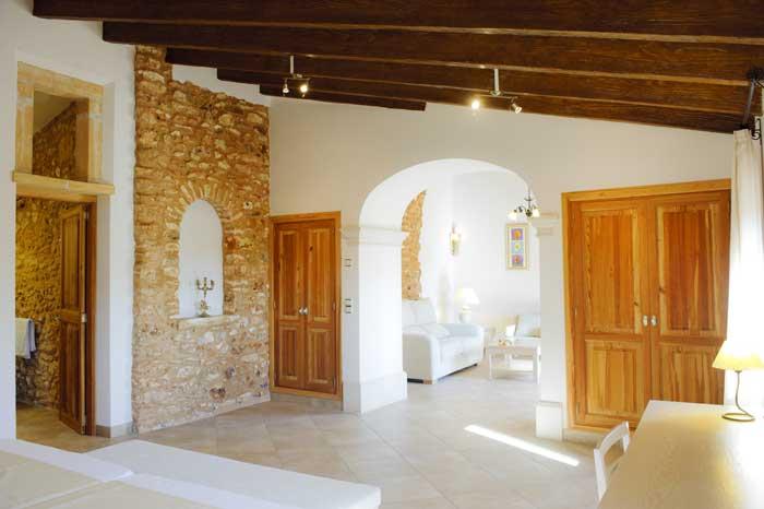 Schlafzimmer 2 b Finca Mallorca Südosten 12 - 14 Personen PM 6563