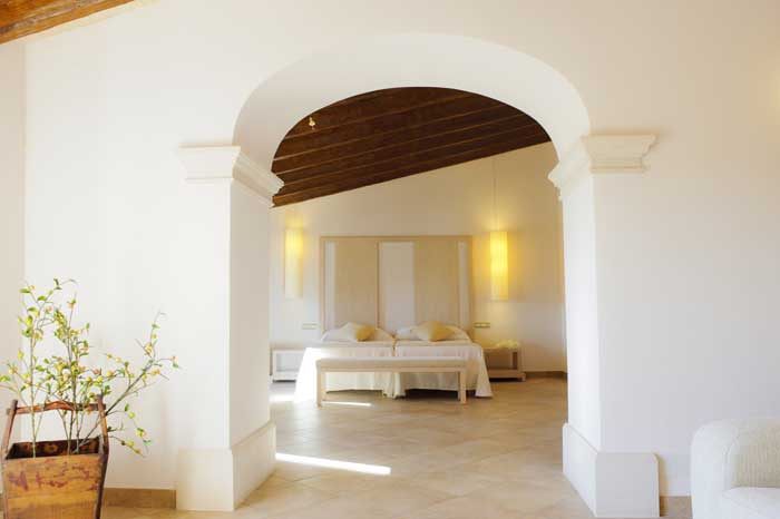 Schlafzimmer 5 Finca Mallorca Südosten 12 - 14 Personen PM 6563