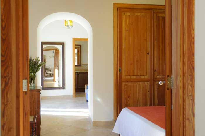 Schlafzimmer b Finca Mallorca Südosten 12 - 14 Personen PM 6563