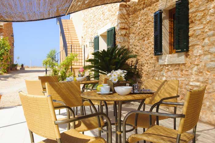 Terrasse 2 Finca Mallorca Südosten 12 - 14 Personen PM 6563