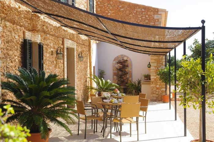 Terrasse Finca Mallorca Pool Südosten 12 - 14 Personen PM 6563