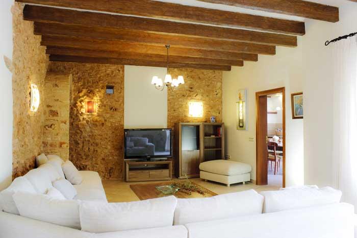 Wohnraum 2  Große Finca Mallorca Südosten 12 - 14 Personen PM 6563