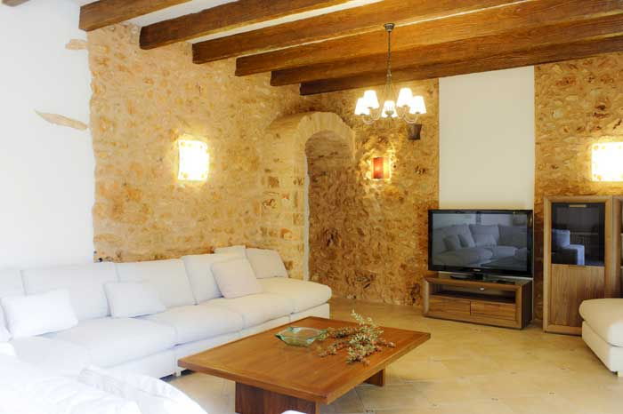 Wohnraum Finca Mallorca Pool Südosten 12 - 14 Personen PM 6563