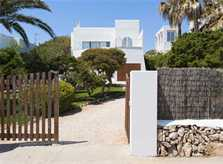 Eingang zum Ferienhaus mit Pool Mallorca Südosten PM 6569