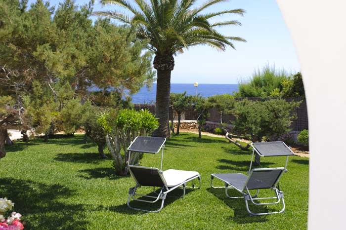 Garten Ferienhaus mit Pool Mallorca Südosten PM 6569