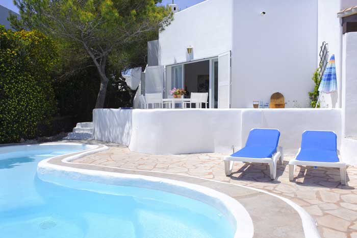 Poolblick Ferienhaus Mallorca Südosten PM 6569