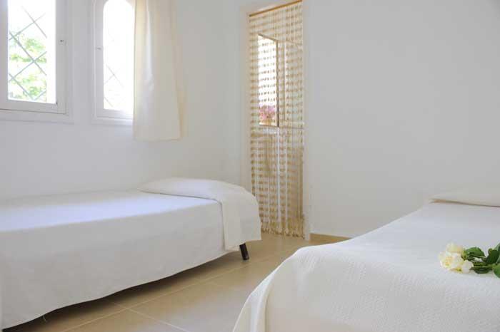 Schlafzimmer Ferienhaus mit Pool Mallorca Südosten PM 6569