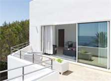 Terrasse oben Ferienhaus Mallorca Südostem mit Pool PM 6569