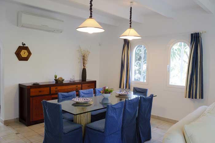 Essplatz Ferienhaus Mallorca mit Pool für 10 Personen PM 6570