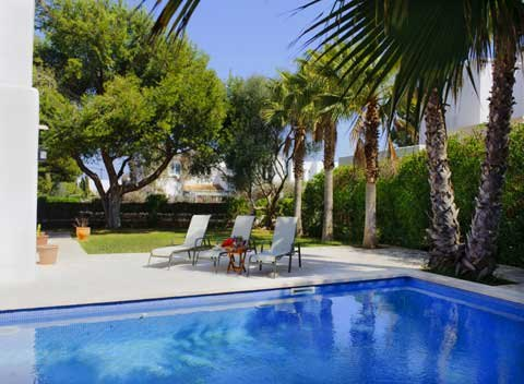 Pool Ferienhaus Mallorca Strandnähe für 10 Personen PM 6570