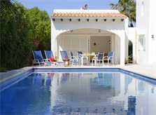 Pool und Terrasse Ferienhaus Mallorca für 10 Personen PM 6570