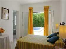 Schlafzimmer Ferienhaus Mallorca mit Pool für 10 Personen PM 6570