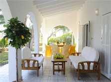 Terrasse Ferienhaus Mallorca strandnah für 10 Personen PM 6570