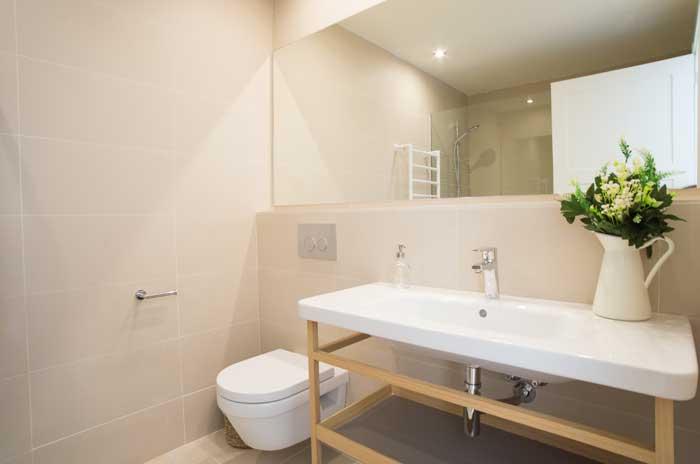 Modernes Badezimmer Finca Mallorca mit Pool für 10 Personen PM 6572