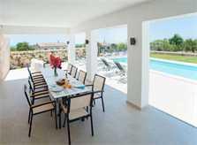 Essplatz Terrasse  Finca Mallorca mit Pool für 10 Personen PM 6572
