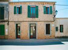 Typische Dorfhaus Fassade Finca Mallorca PM 6572