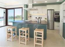 Moderne Küche Ferienhaus Mallorca mit Pool für 10 Personen PM 6572