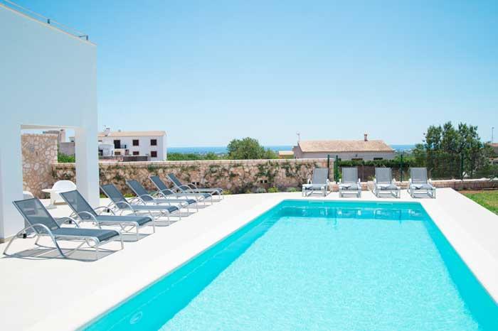 Poolblick Finca Mallorca 10 Personen PM 6572
