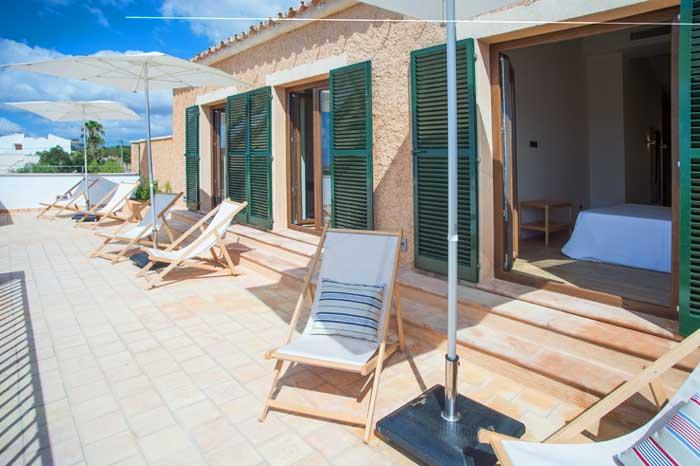 Terrasse 2 Finca Mallorca mit Pool für 10 Personen PM 6572