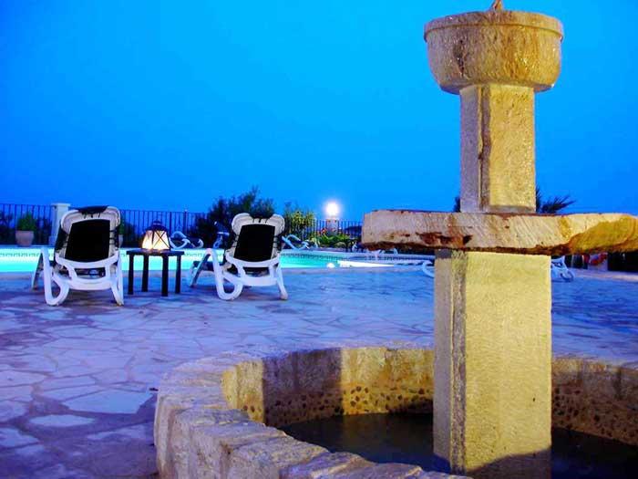 Abendstimmung Ferienhaus Mallorca mit Pool für 12 Personen PM 658
