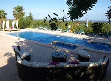 Poolblick 3  Finca Mallorca 12 Personen PM 658