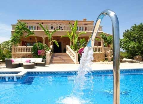 Großer Pool Finca Mallorca 12 Personen Pool Sauna PM 658