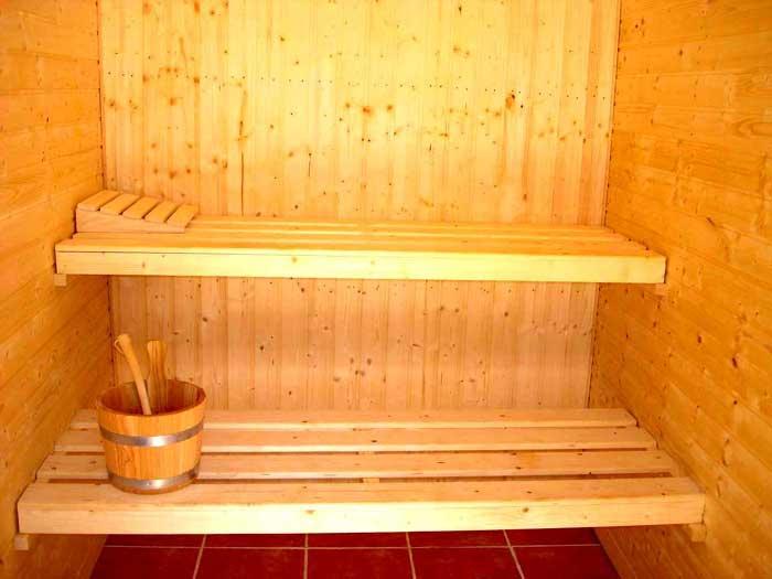Sauna 2 Finca Mallorca mit Pool für 12 Personen PM 658