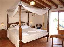 Schlafzimmer 5 Finca Mallorca mit Pool für 12 Personen PM 658