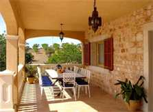 Terrasse Finca Mallorca Pool 12 Personen PM 658