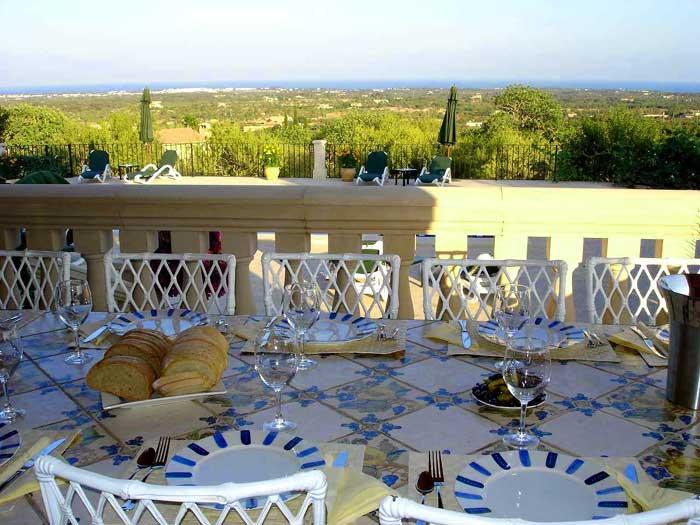 Terrasse 2 Finca Mallorca mit Pool für 12 Personen PM 658