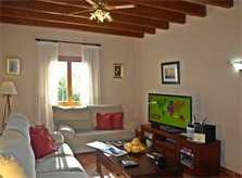 Wohnraum 2 Finca Mallorca mit Pool 12 Personen PM 658