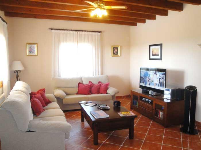 Wohnraum Finca Mallorca Pool 12 Personen PM 658