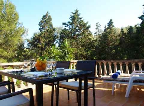 Terrasse der Ferienwohnung Mallorca 2 - 4 Personen PM 6585 in Porto Petro