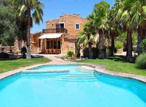 Großer Pool und Finca Mallorca Südosten für 10 Personen PM 659
