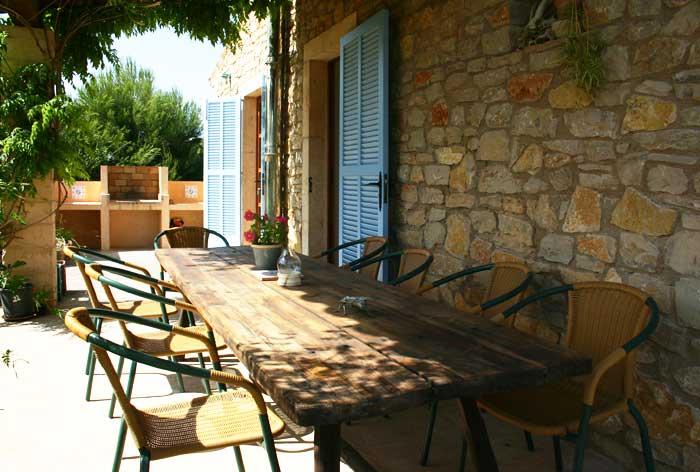 Barbecue Finca Mallorca Pool Felanitx 8 Personen PM 675