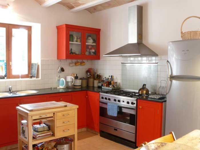Küche Finca Mallorca Pool Felanitx 8 Personen PM 675