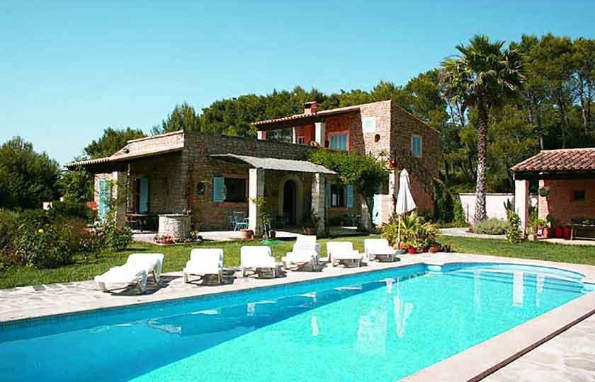 Pool und Finca Mallorca Pool Felanitx 8 Personen PM 675