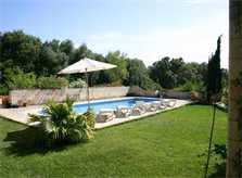 Pool und Rasen Finca Mallorca Pool Felanitx 8 Personen PM 675