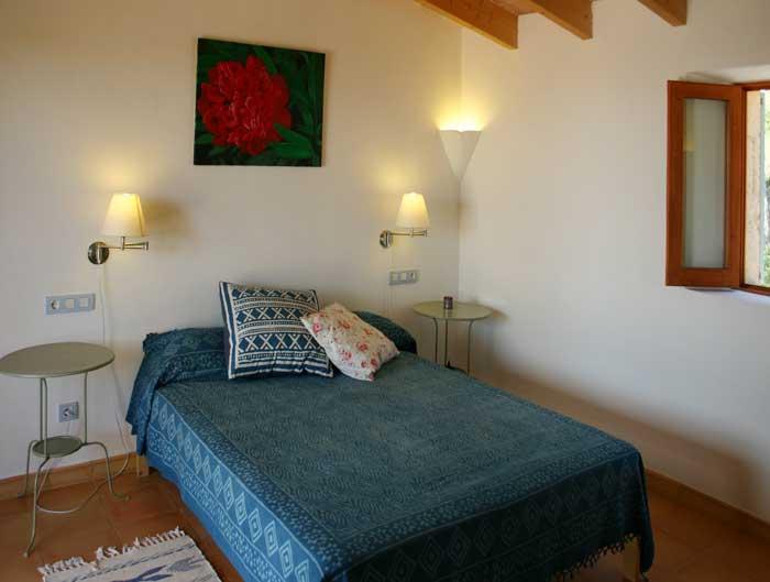 Schlafzimmer 4 Finca Mallorca Pool Felanitx 8 Personen PM 675