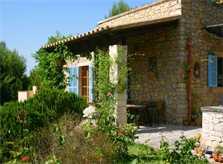 Terrasse Finca Mallorca Pool Felanitx 8 Personen PM 675