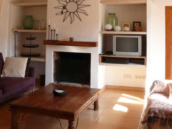 Wohnraum Finca Mallorca Pool Felanitx 8 Personen PM 675