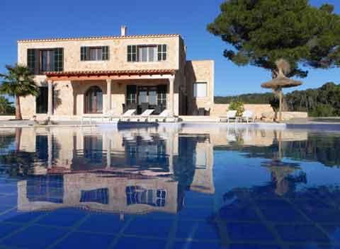 Großer Pool Komfortable und moderne Finca Mallorca für 8 - 10 Personen Internet Klimaanlage PM 678