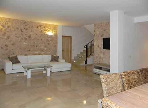 Modernes Design geräumiger Wohnbereich Komfortfinca Mallorca mit 4 Schlafzimmern Mallorca Felanitx  PM 678