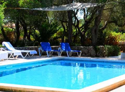 Pool und Terrasse Große Mallorca Finca 14 - 18 Personen PM 690