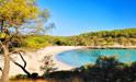 Naturstrand S Amarador - Cala Mondrago - Mallorca, Sueden