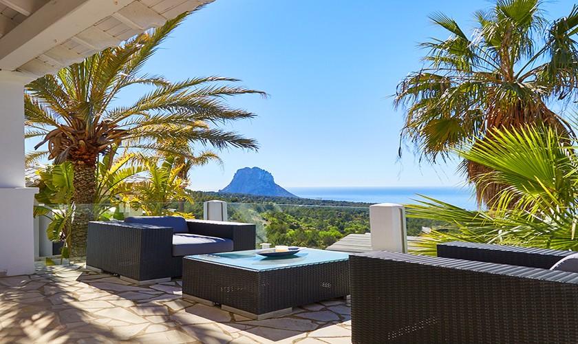 Meerblick Poolvilla Ibiza 10 Personen IBZ 12
